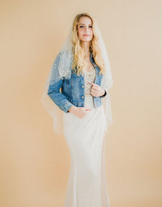 Azul BRIDE Denim Wedding Jacket
