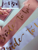 Load image into Gallery viewer, Bride To Be Hens Party Sashes