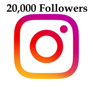 20,000 Instagram Followers