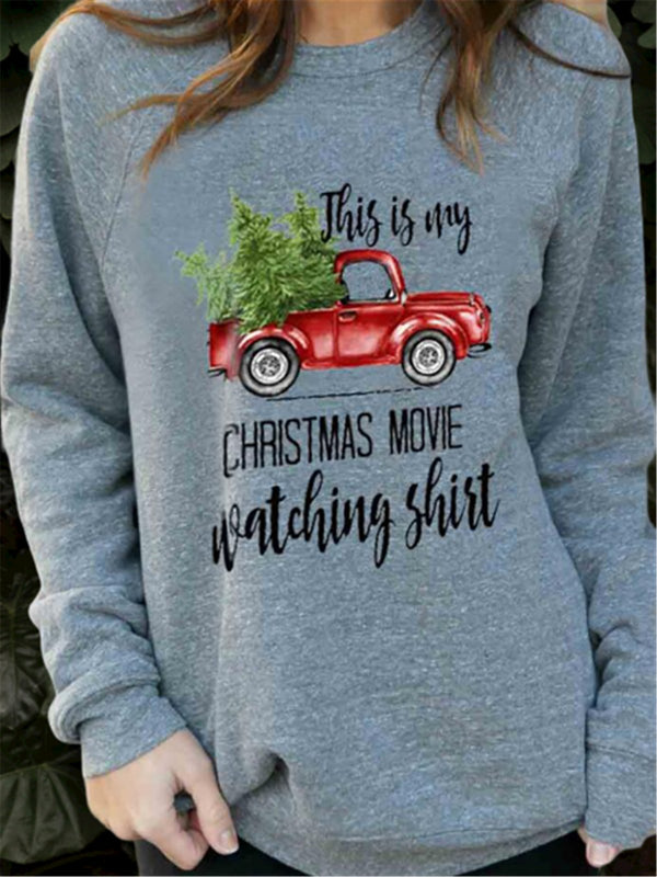 Christmas Printed Long Sleeve Shirts