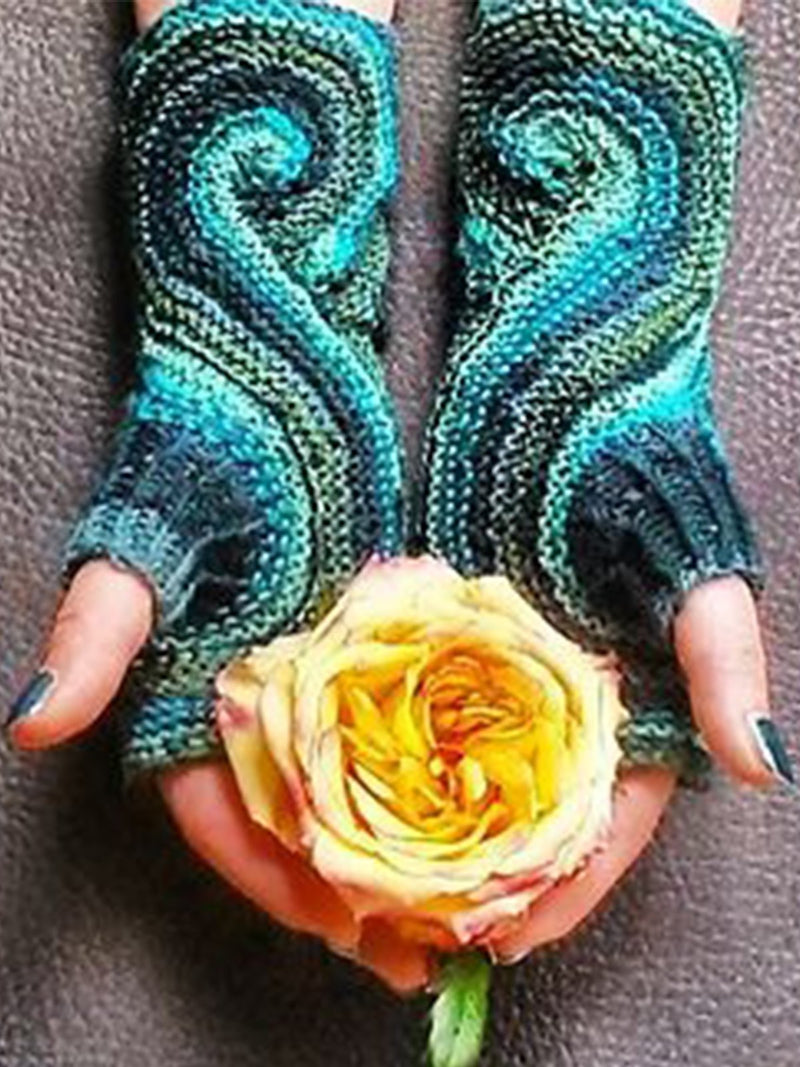Casual Paisley Gloves