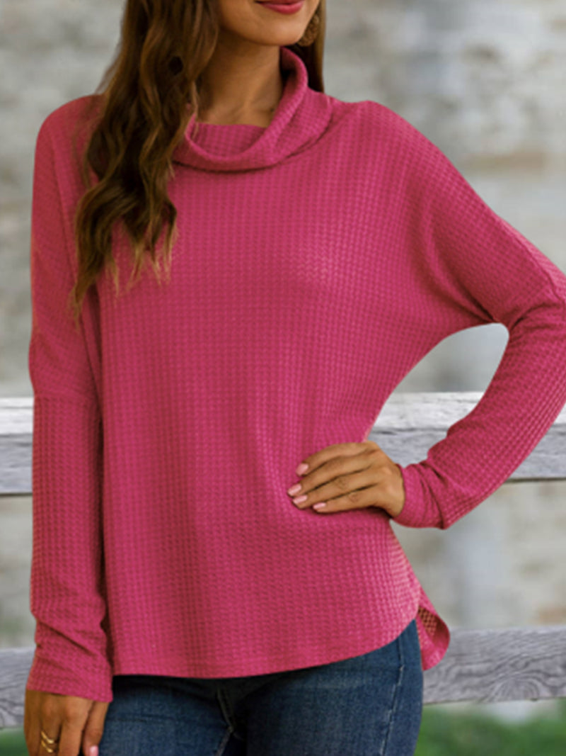 Long Sleeve Turtleneck Casual T-Shirts