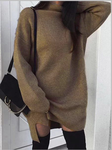 Long Sleeve Casual Dress