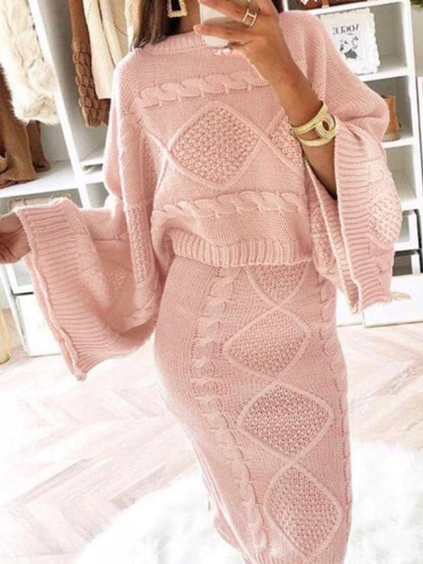 Popzora Elegant Women Knitted Sets