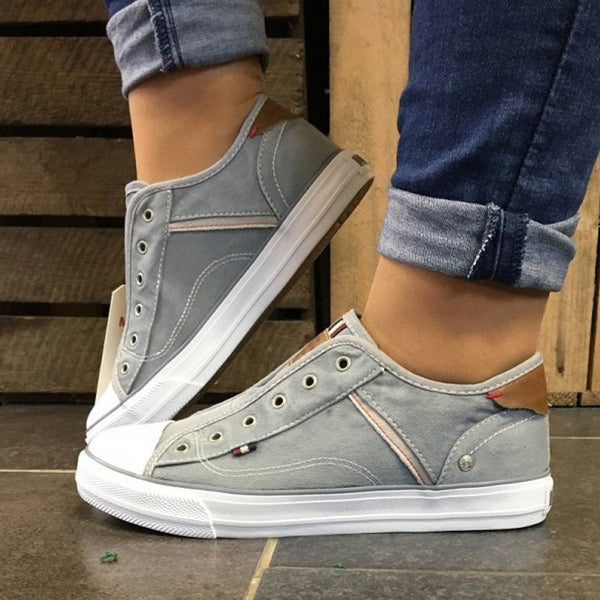 Women Canvas Comfy Sneaker Shoes