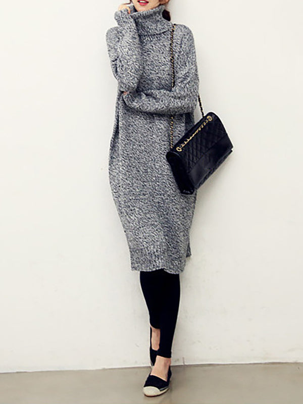 Statement Knitted Dress