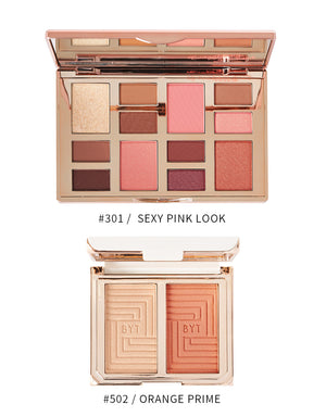 BEYOUTIFUL SEXY PINK LOOK PALETTE WITH BLUSH BUNDLE