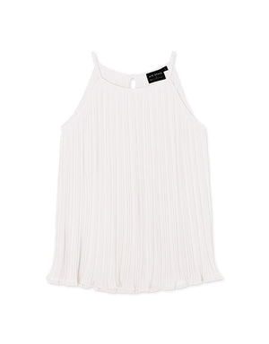 CHIAO Square Neck Pleated Camisole