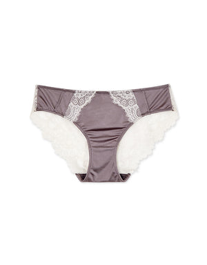 Ice Silk Lace Brief Panty