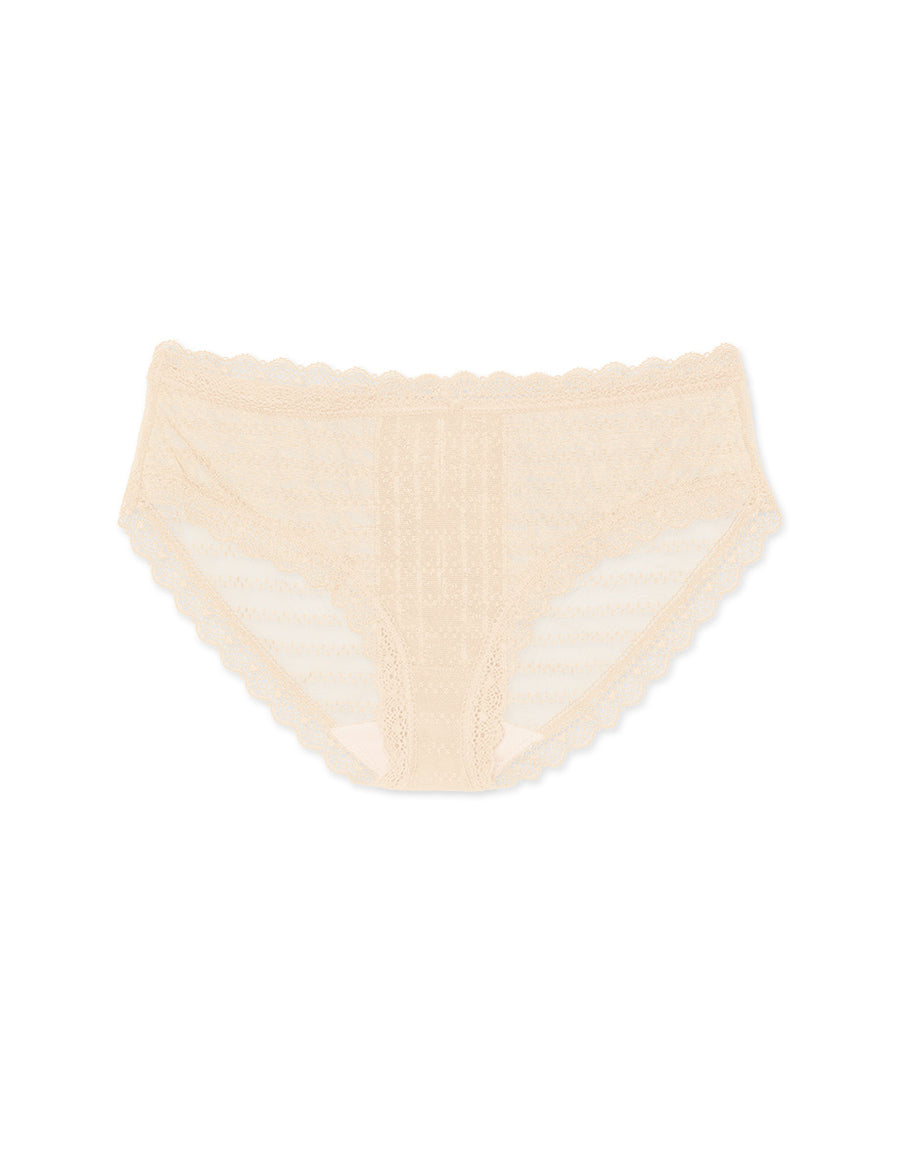Hollow Little Ribbon Lace Brief Panty