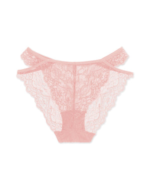 Hollow-out Lace Brazilian Panty