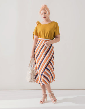 One-shoulder Strappy Top