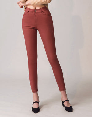 Stretch Skinny Fit Multicolor Pant