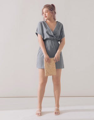 Lapel Collar Dress