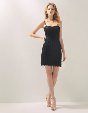 2Way Textured Mesh Fit Cut Dress (with Padding)
