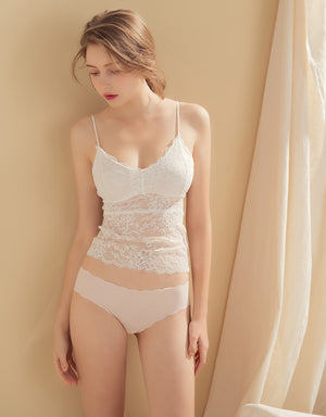 Scallop Seamless Brief Panty