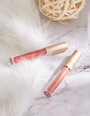 BEYOUTIFUL Lip Lacquer -#607NU Nude Sakura