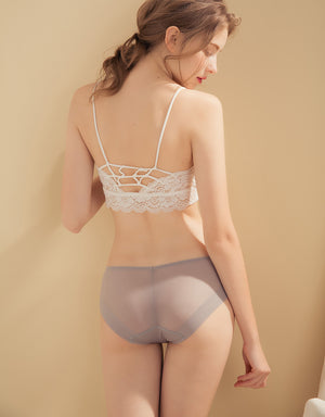 Mesh Seamless Brief Panty