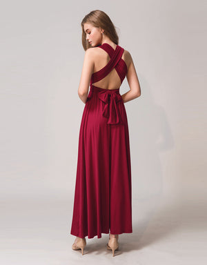 3 Way Greecian Cross Back Dress
