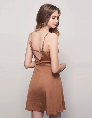 Sexy Ribbed Wrap Dress