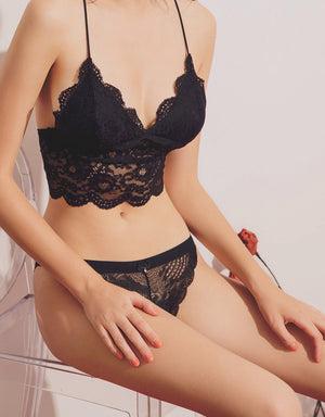 Ribbon Lace String Panty