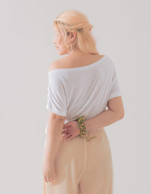 SIDE RIBBON TOP