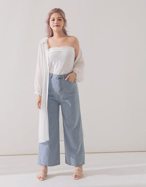Loose Flare Jeans