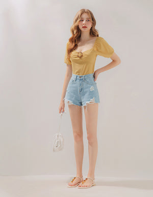 2Way Amber Ring Crop Top