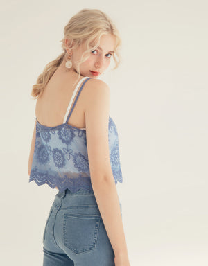 Lace Mesh Camisole