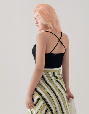 Cross Back Stretch Camisole