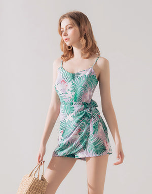 Printed Cami Playsuit