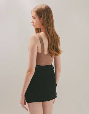 Minimalist Pocket Mini Skirt