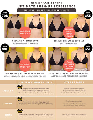 Crossover Bikini Swimwear Top + Free Body Jewelry