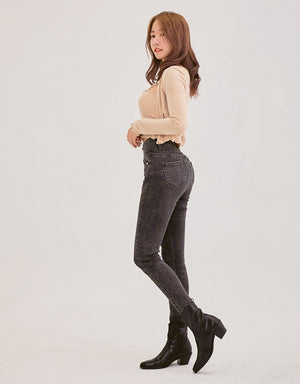 Regular Height- No Filter Shape-Up Slimming Denim Pants