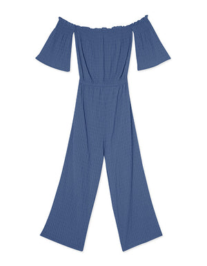 Shirred Tube Jumpsuit