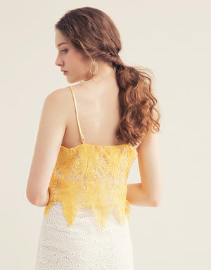 Feather Lace Camisole