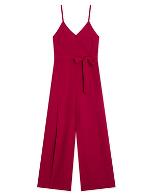 Cross-over Front Strap Jumpsuit