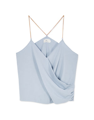Crossover Camisole with Metal Straps