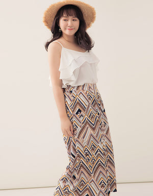Vacation Printed Culottes