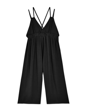 Crossover Backless Overalls