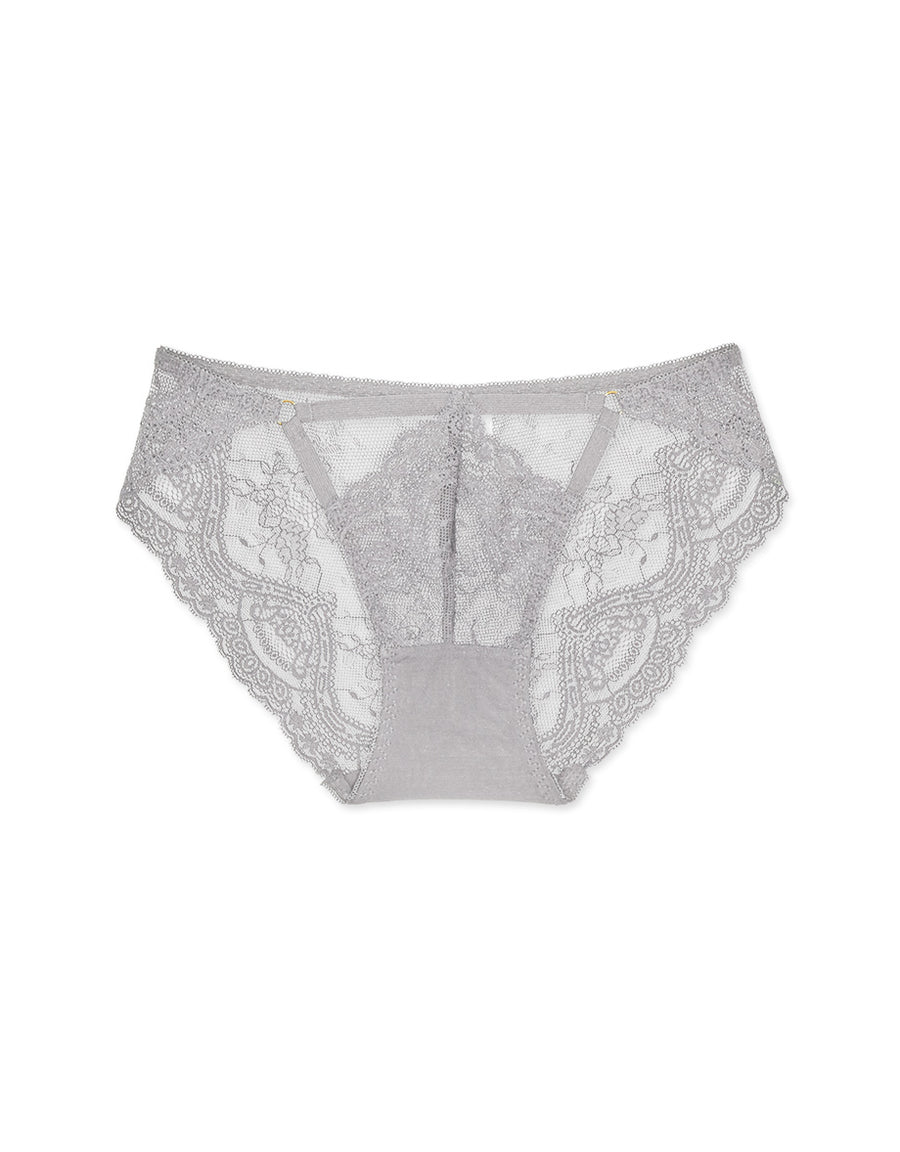 Hollow Lace Brief Panty