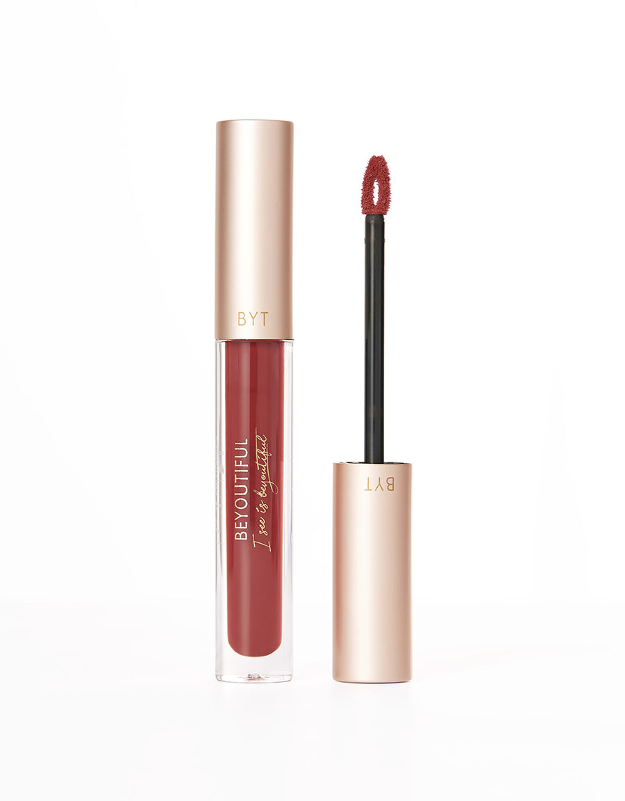 BEYOUTIFUL Lip Lacquer -#602OR Maple Leaf
