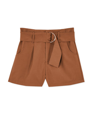 Double Metal Ring Shorts