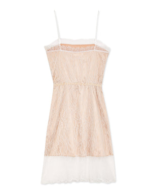 Eyelash Lace Little Cami Dress