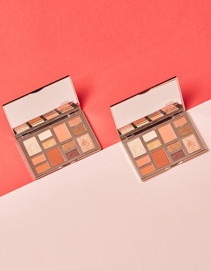 BEYOUTIFUL CHIC ORANGE LOOK PALETTE WITH LIP LACQUER BUNDLE