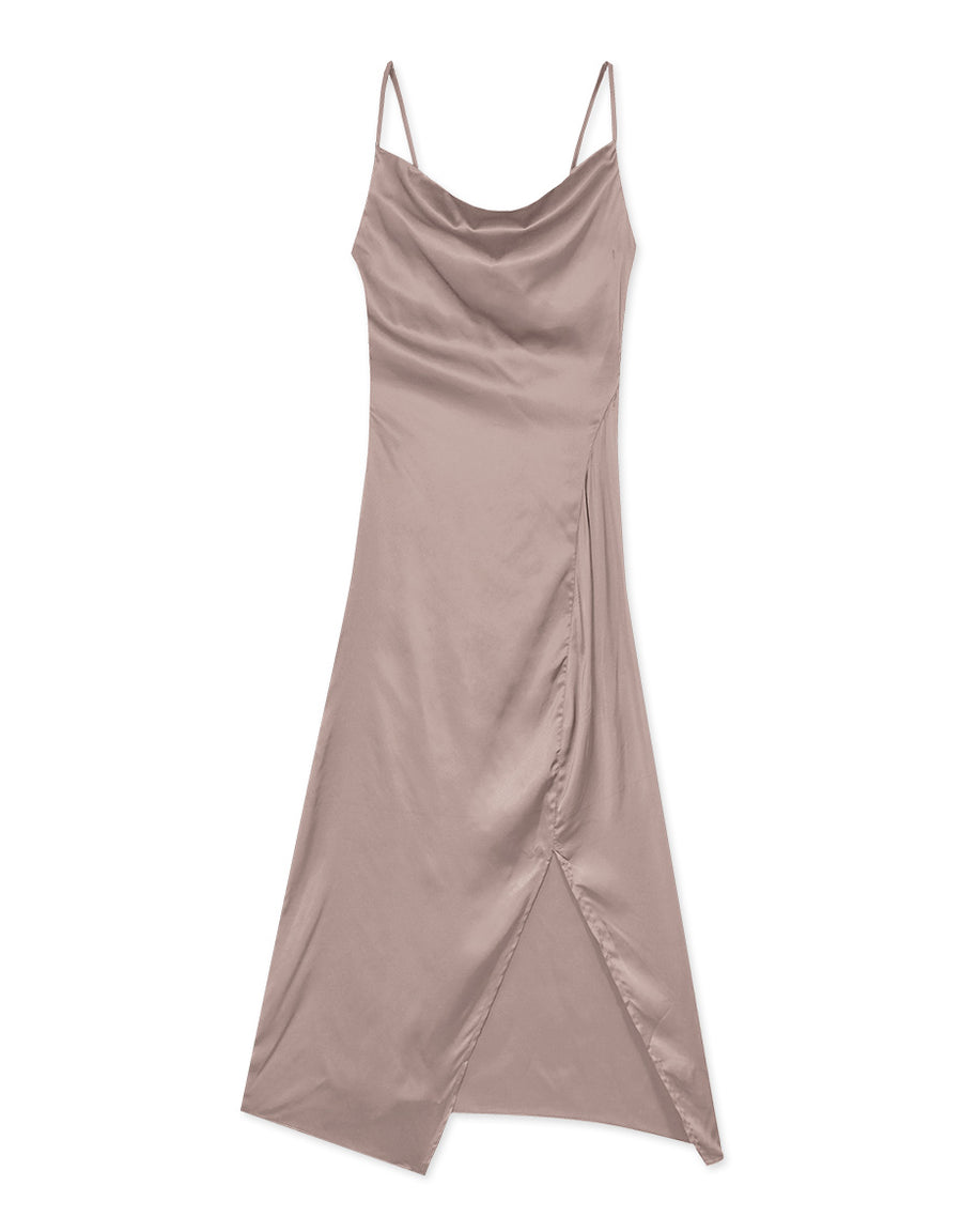Satin Maxi Cami  Dress