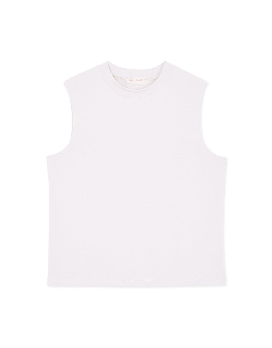 Minimalist Cotton Sleeveless Top