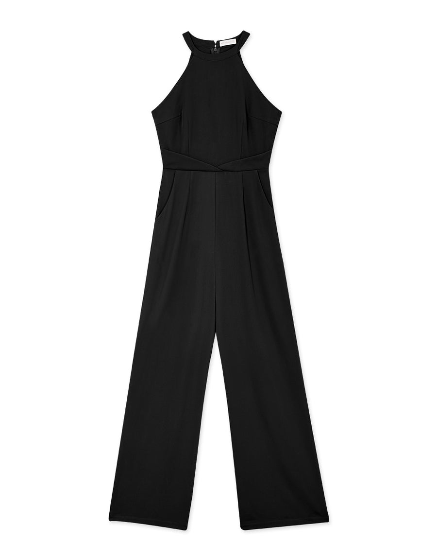 Halter Fit Jumpsuit