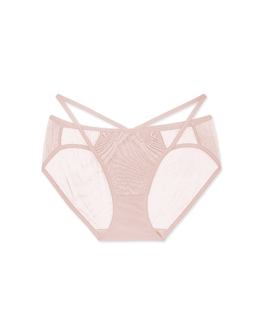 Hollow Strappy Brief Panty