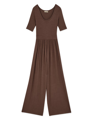 Elegant Cotton Jumpsuit